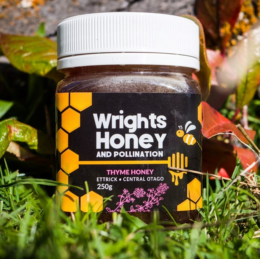 Thyme Honey made by Honey by Wrights in Central Otago, New Zealand - 1