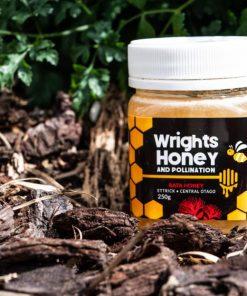 Natural Rata Honey - Wrights Honey 250g